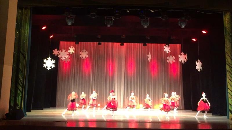 Испанский танец гала-концерт «Зимушка-Зима 2018м