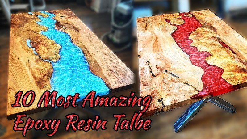 10 MOST Amazing Epoxy Resin Table! Awesome Woodworking Projects and Ideas MUST WATCH!