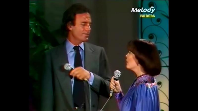 Julio Iglesias Mireille Mathieu - La vie en rose
