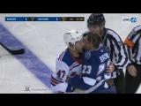 NHL Fight. Steven Kampfer vs J.T. Brown Nov. 2, 2017 _ Хоккейные драки 02.11.201
