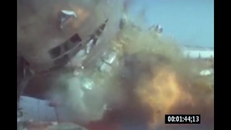 Взрыв 300-грамовой бомбы в багажном отсеке