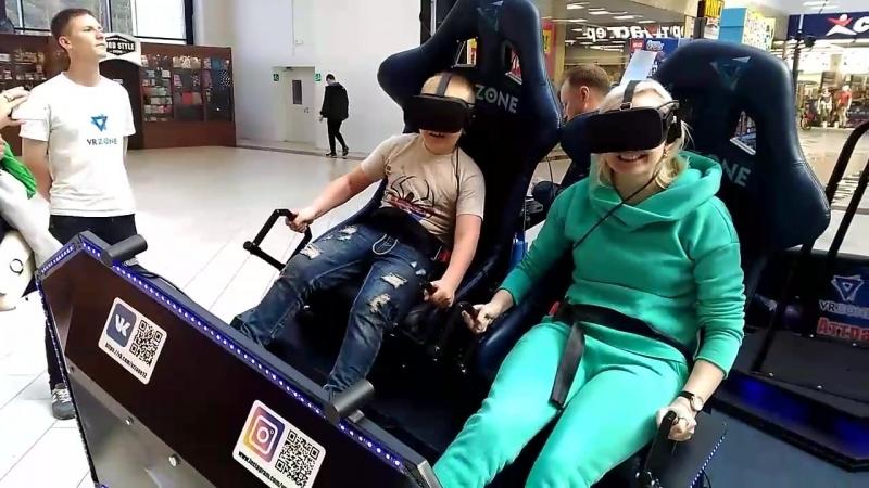 Горки в замке на площадке VR ZONE