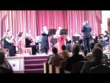 И.С.Бах Концерт для скрипки и гобоя ре минор .Марина Юлина , гобой Камерный оркестр филармонии , Главный дирижер Игорь Каждан .