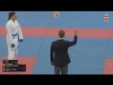 Гвадалахара-2018. Финал в женском кумитэ до 68 кг. Бывает и такое :)