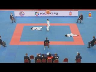 Гвадалахара-2018. Финал в женском командном ката