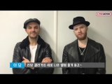 Hurts Interview to Live Nation Korea