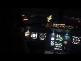 А320 Посадка по ПВП.