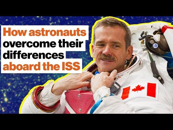 Aboard the ISS Why cross-cultural communication is a matter of life or death | Chris Hadfield