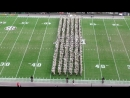Fightin Texas Aggie Band Halftime Drill Auburn Game at Kyle Field