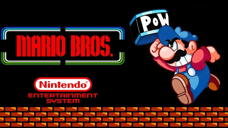 Mario Bros. 1983 gameplay (NES/Dendy) 60fps