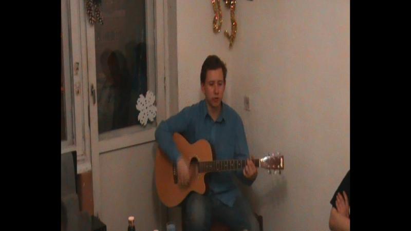Виктор Харрисон поёт песню Андрея Машнина Светлый путь.