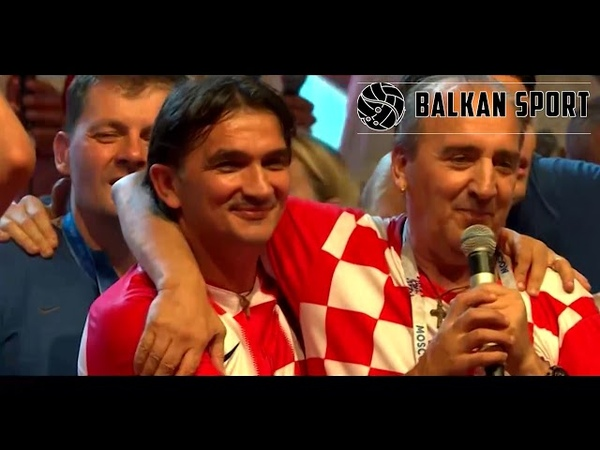 Mladen Grdović i VATRENI NIJE U ŠOLDIMA SVE Doček VATRENIH