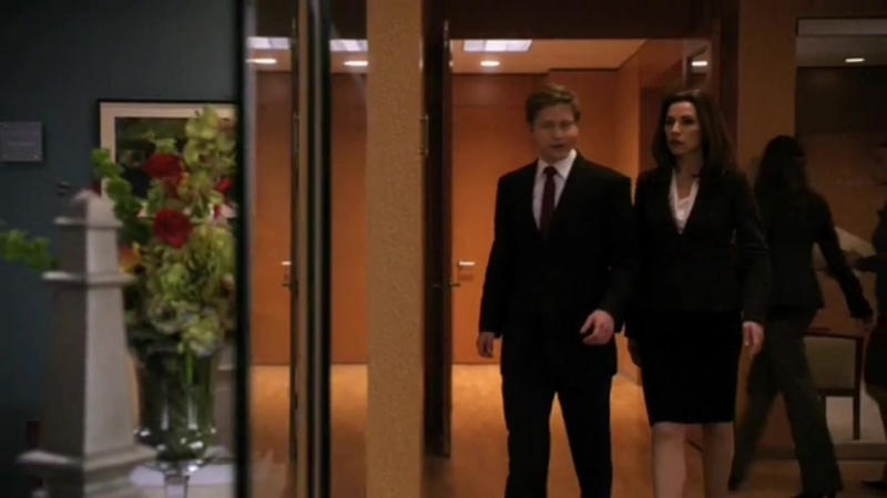 The Good Wife 01x21 - competition is over