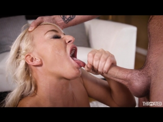 London river - london vs cock (cumshot, blonde, blowjob, deepthroat, gonzo, big tits, mature, milf, oral, spitting, swallow)