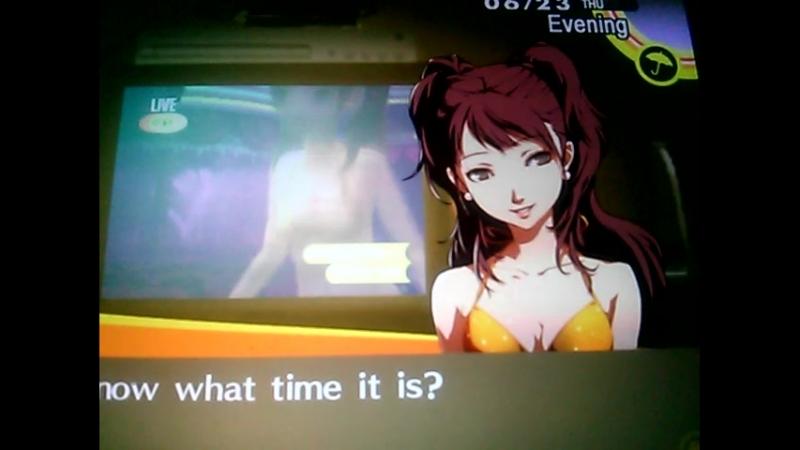 Persona 4 Shadow Rise Kujikawa In Her Sexy Bikini.3gp
