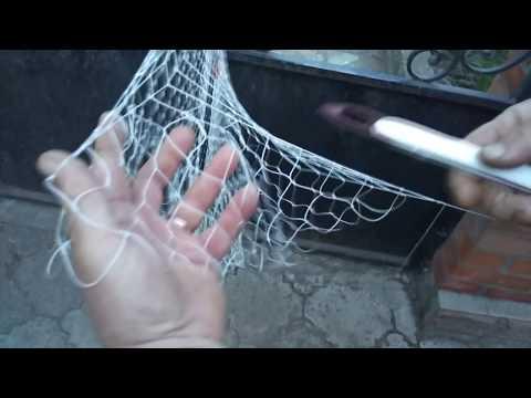 Наборка диаметра кастинговой сети. Один из вариантов.
