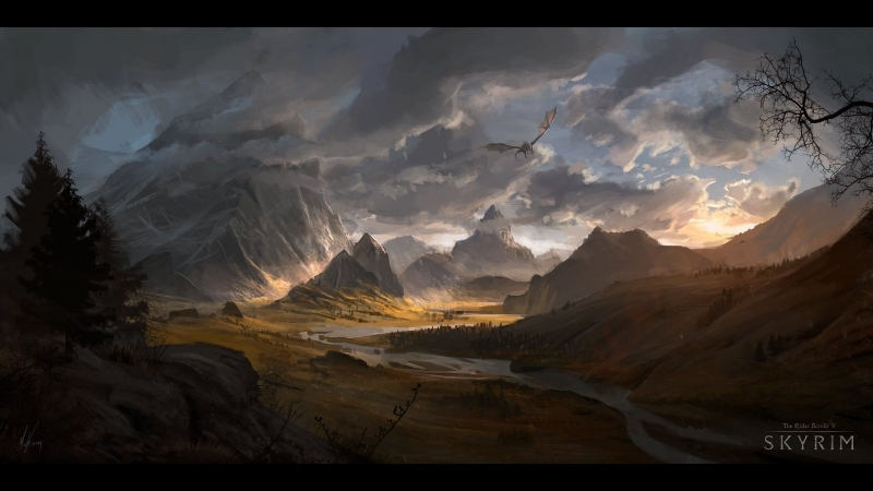 Легенда TES V: Skyrim