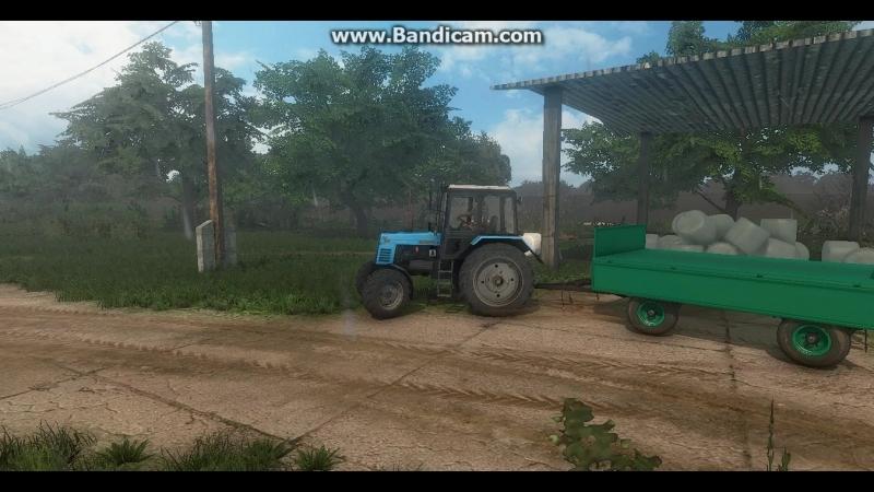 Farming Simulator 17 MTZ 892 with Autosan D 47