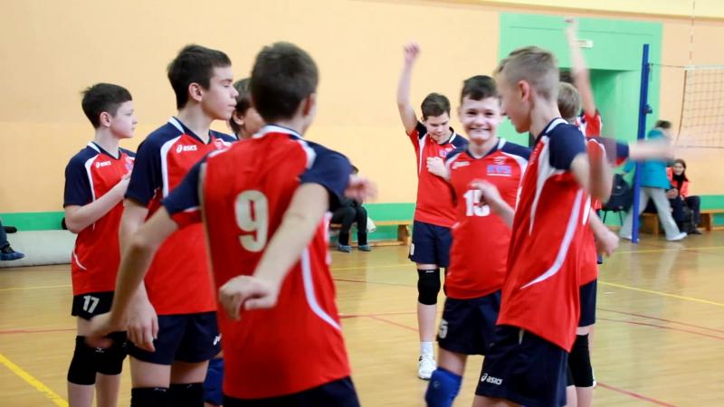 KVS - Кузбасская школа волейбола - 3.12.17 Кемерово. Разминка.