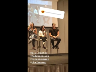 Insta story Kinetic Vibe with cast at itainstitutecon2_5