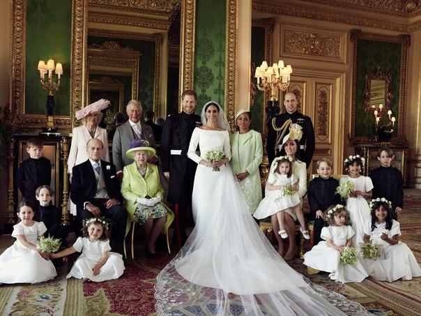 Опубликованы официальные свадебные фото принца Гарри и Меган Маркл