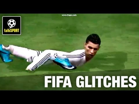 More funny football video game glitches PES FIFA fails