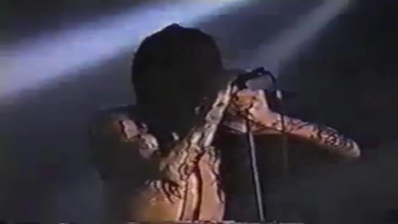Marilyn Manson — Rock n Roll Nigger (Live in Austin|14.01.1995)