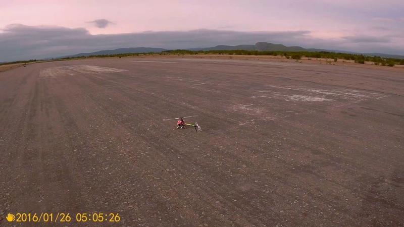 TAROT 450 6S аэродром 1 полет