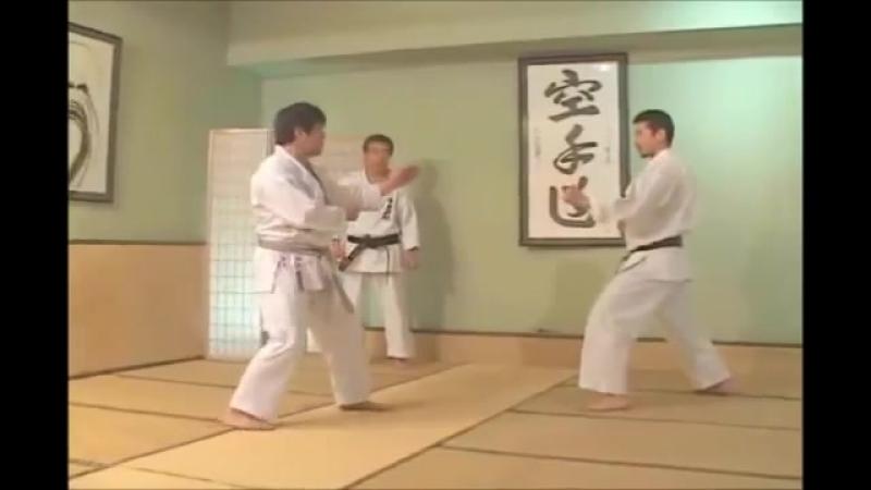 Jiyu-ippon-kumite маваши-гири 3 вариант