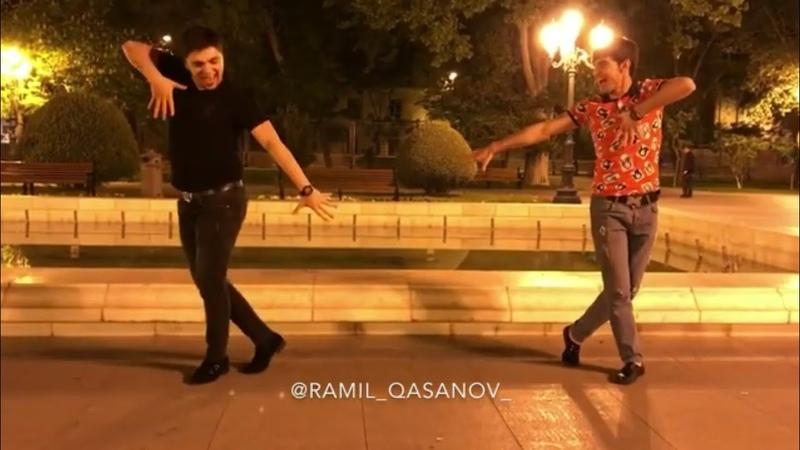 Ramil Qasanov Və Telələbəsi İskenderden Möhtəşəm Lezginka Rəksi