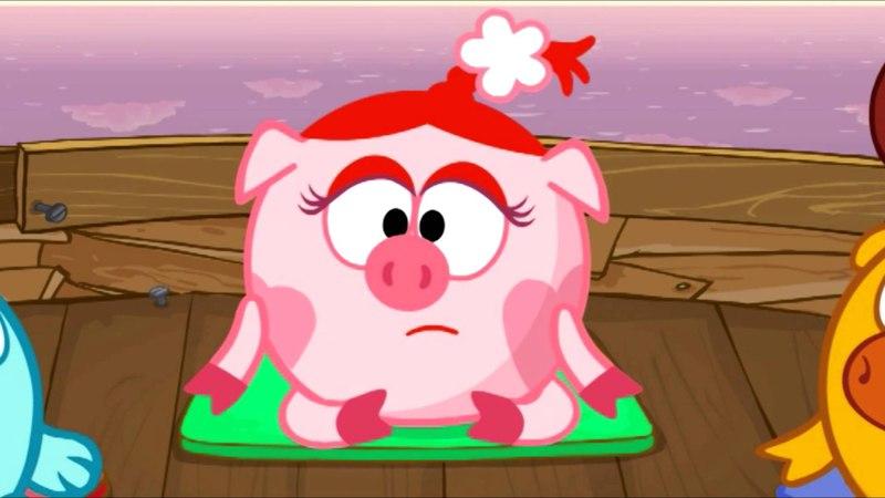Смешарики 2D - Реветь так реветь | Мультфильмы про свинку