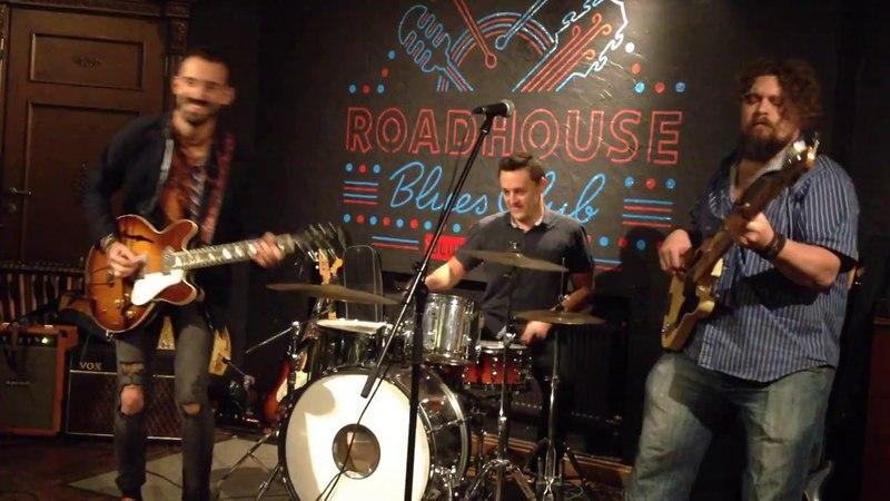 Eugene Lamba band - Hideaway @ Moscow, Roadhouse Blues