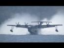 Взлет японского гидросамолета ShinMaywa US 2