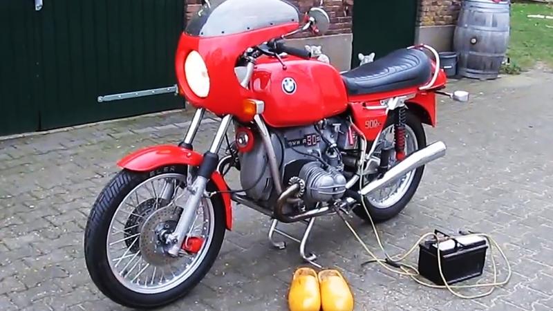 Мотоцикл BMW R90S, 1974 года