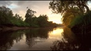 Sunset on the river 40 minutes relaxing video HD 1080p
