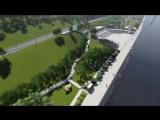 Проект набережной в Перми