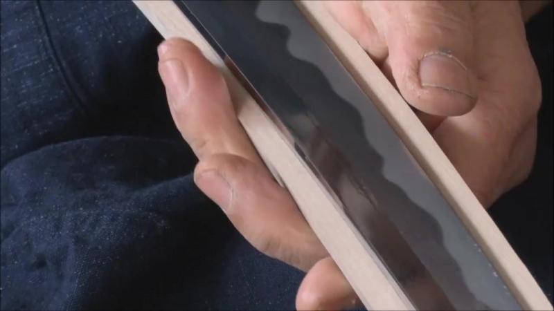 Как вырезают ножны из дерева . L.K.
