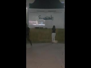 караоке в отеле Шарм-эль-шейх (Египет)