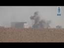 Syria, Hama: HTS struck with an ATGM (likely Fagot) a tank on Shakushiyah front. 06.11.17