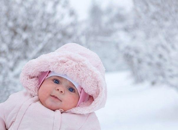 маленьких зимой картинки детей