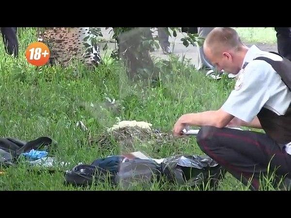 Первое видео с места подрыва пассажирского автобуса в Дебальцеве