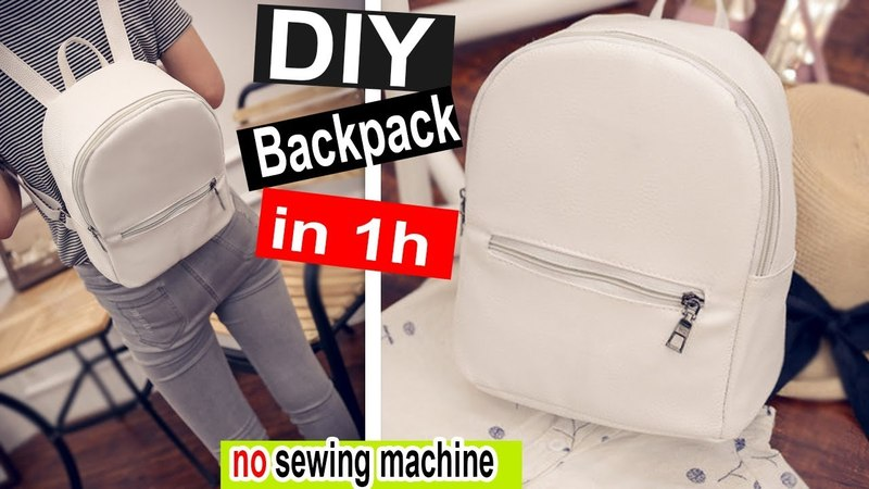 DIY BACKPACK NEW IDEA FAST MAKING WAY SUMMER 2018