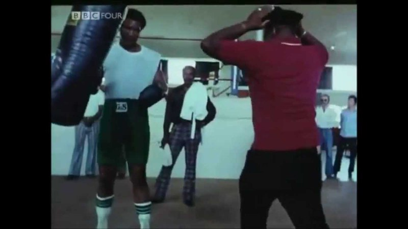 George Foreman Hitting Heavy Bag ALL