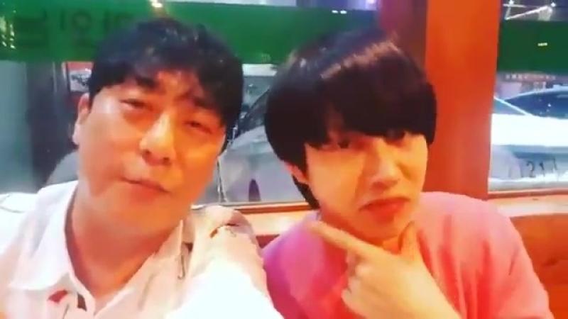 [VIDEO] 180403 annzzanga IG Update with Kim Heechul 우주대스타김희철봄계절이바뀌고ㅠ--헤어스탈바뀌고--난,빨가코ㅠ - SuperJunior 슈퍼주니어 Heechul 김희철 희철
