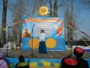 Танец с шашками Карины Щадиловой на празднике Масленицы в п.Аскиз 18.02.2018 г.