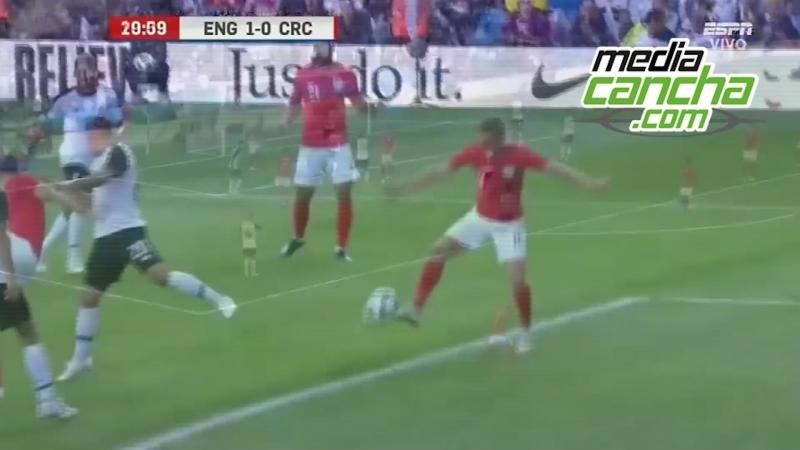 Inglaterra vence a Costa Rica
