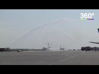 Полет ТУ-134