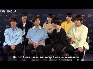 [RUS SUB] BTS On What They Love About Themselves, Each Other, Dream Artist Collabs - PeopleTV