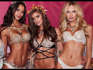 Спустившиеся с небес! Парад красоты от Victoria's Secret