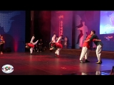 Приветственное выступление команды Федерации корэш России на Международном фестивале боевых искусств в Южной Корее